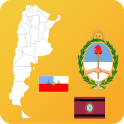 Argentina State Maps and Flags