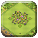 Town Hall 5 Farming Base Maps