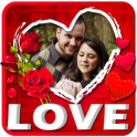 Love Photo Frames Editor