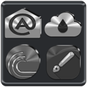Black, Silver and Grey Icon Pack ✨Free✨