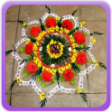 Flower Rangoli Gallery