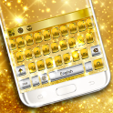 Gold Silver Keyboard Theme