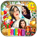 Friends Photo Collage