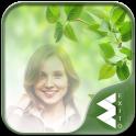 Green Leaves Photo Frames