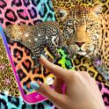 Cheetah leopard print live wallpaper
