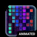Digital Rain Animated Keyboard