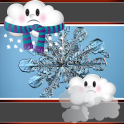 Snowflake Clock And Weather