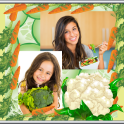 Vegetable Photo Collage
