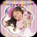Princess photo frames for kids