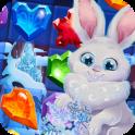 Bunny's Frozen Jewels: Match 3