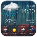 Local reliable temperature, weather widget&alerts
