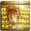 Gold Dragon Keyboard Theme