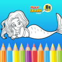Mermaid Coloring Games