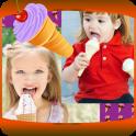 Ice Cream Photo Collage