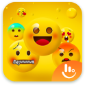 Happy Emoji Keyboard Sticker