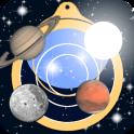 Astrolapp mapa en vivo de estrellas y planetas