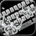 Glitter diamond Keyboard Theme