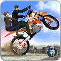 Extreme Rooftop Bike Rider Sim