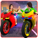 Girls Biker Gang 3D