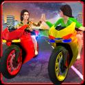 Girls Biker Gang 3D