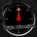 Qibla Direction Black Edition