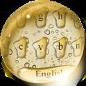 Golden Drops Keyboard