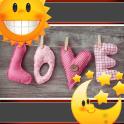 Love Clock And Weather Widget