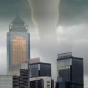 moving tornado wallpaper