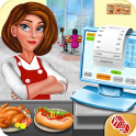High School Cafe Cashier Girl - Kids Game