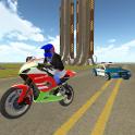 Bike Rider VS Cop Car - Police Chase & Escape Game
