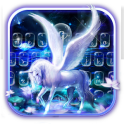 Graceful Alicorn Keyboard Theme