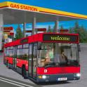 Gas Station Bus Driving Simulator