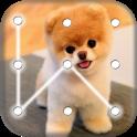 Puppy Dog Pattern Lock Screen