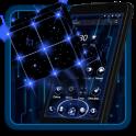 3D Tech Neon Cube Theme