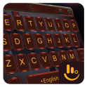 Neon Red Eva Keyboard Theme