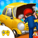 Little Garage Mechanic Vehicles Repair Workshop
