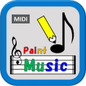 Paint Music (Easy-to-use composition application)