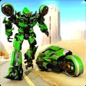 Real Moto Robot Transform