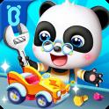 El Panda Bebé repara juguetes
