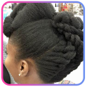 African curls hairstyle