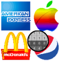 American Logo Color by Number - Pixel Art Coloring
