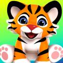 Hablar tigre gran gato