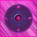 Free Pink Go Locker Theme