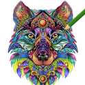 Adult Coloring Book FREE 2019 by ColorWolf