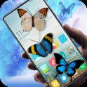 Butterfly in phone prank