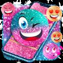 Emoji glitter live wallpaper