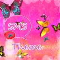 GO SMS Pro Theme Pink Joli