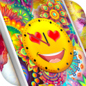 Emoji Clock Live Wallpaper Free