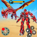 Flying Dragon Robot Simulator :Transformation War