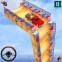 Vertical Ramp Car Stunts Free Game